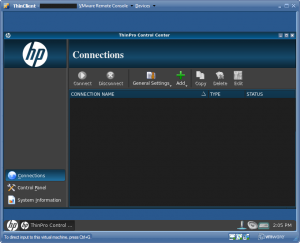 HP ThinPro